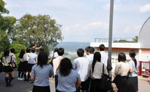 岡山理科大学附属高等学校の来校について