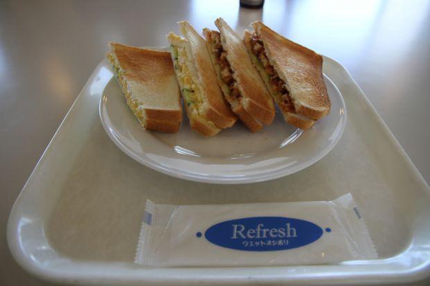 ミックスホットサンドイッチ