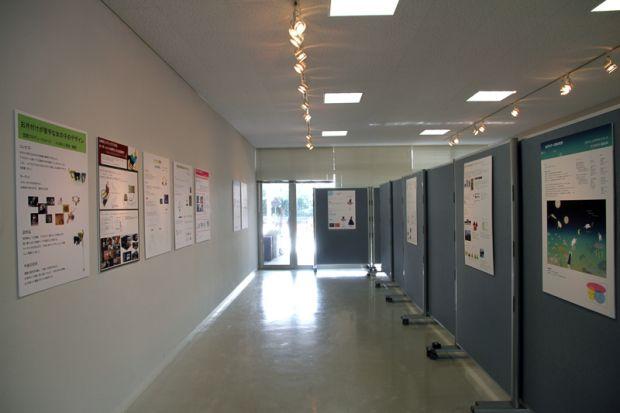 ZONE展示の様子
