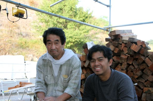岡田先生とギタ・ウィナタさん