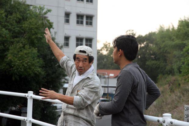 岡田先生とギタさん