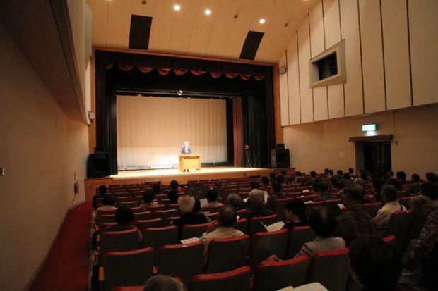 倉敷市水島公民館大ホールの様子