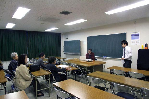 幡山先生の出張講義
