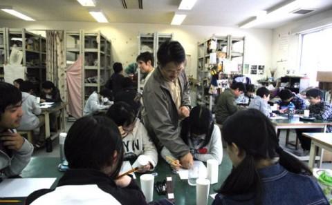 岡山理科大学附属中学校の学内実習について