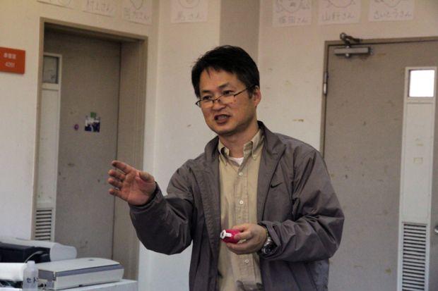 美術工芸学科 張先生