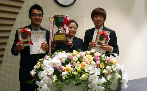 本学学生が日本語弁論大会にて最優秀賞。