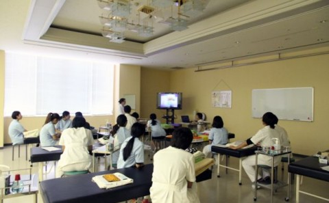 健康医療学科の講義「鍼灸臨床実習Ⅰ」について