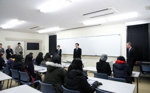 韓国全南女子商業高校の来学について
