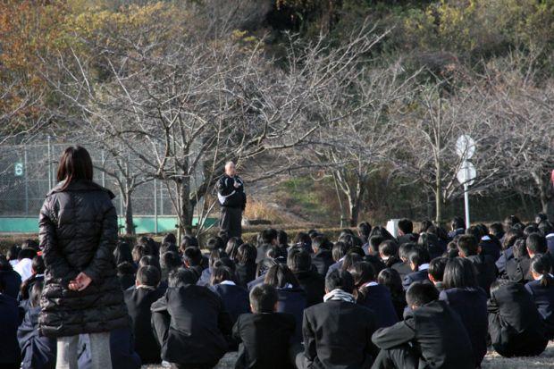 倉敷市立連島中学校の生徒