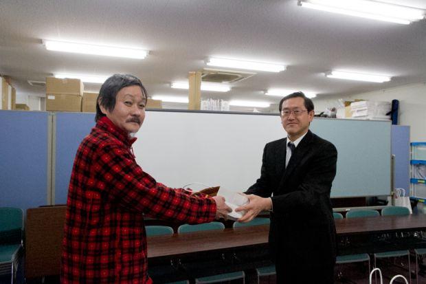 幡山先生と片岡良平さん