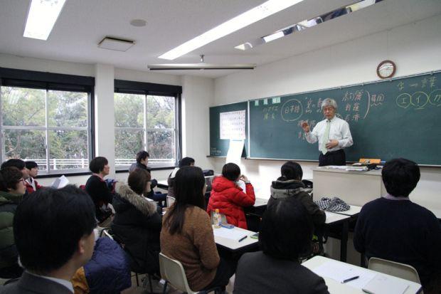 濱家輝雄先生の講義