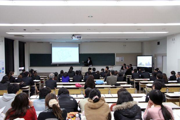 観光学科卒業研究発表会