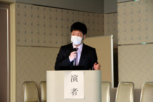 健康科学科4年次生 武田 和樹さん
