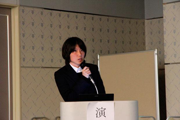 健康科学科 4年次生 藤本 成美さん