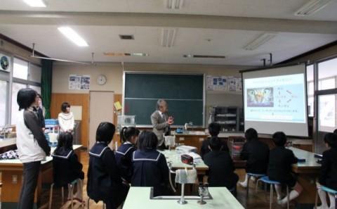 倉敷市立連島西浦小学校での出張講義についてvol.4