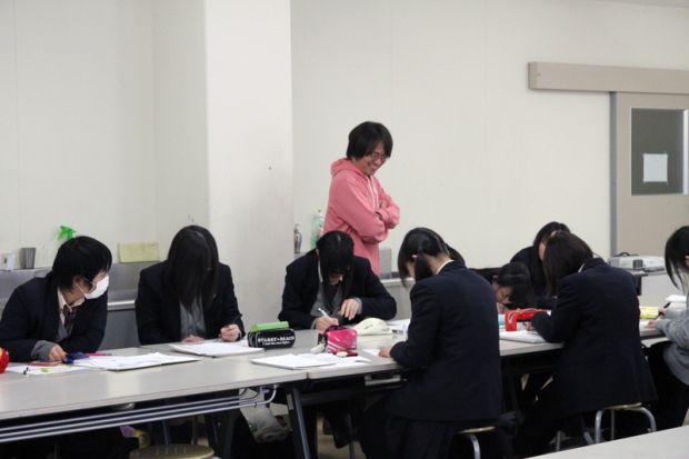 岡山理科大学附属高等学校アニメ・デザインコースの1・2年生の皆様