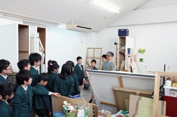 美術専攻現代表現の教室
