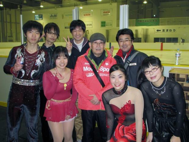 第26回中四国学生フィギュアスケート選手権大会終了後写真