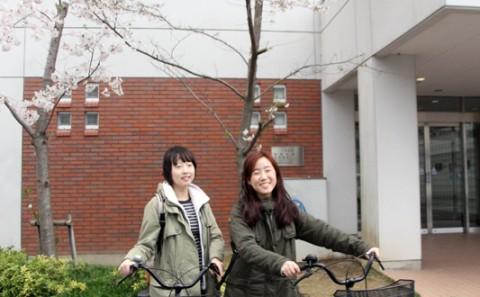 倉敷市より自転車が寄贈されました。