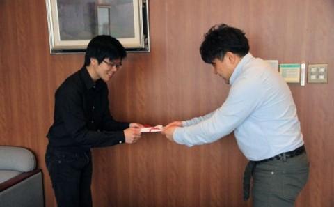 2012年度デザインコンペ授賞式について