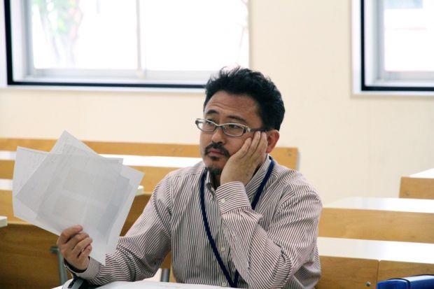 指導担当の田丸稔先生