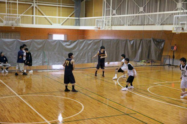 バスケ練習試合