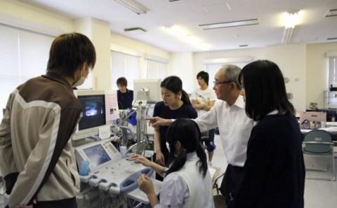 岡山県立倉敷鷲羽高等学校の学内実習について