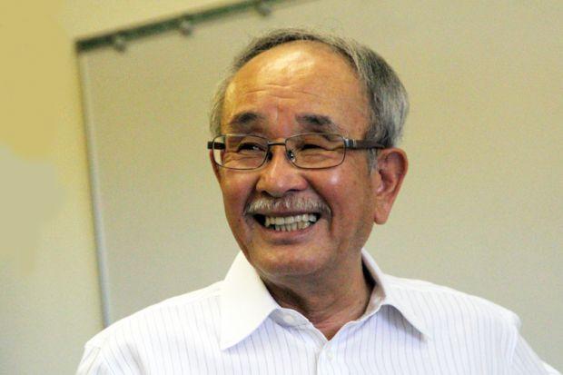 健康科学科教授川上雅之
