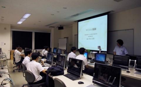 吉備高原学園高等学校の学内実習について 2013年vol.2