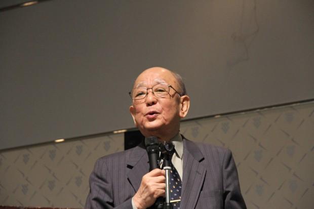 倉敷芸術科学大学特別栄誉教授鈴木章氏