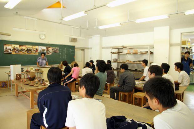 吉備高原学園高等学校への出張講義