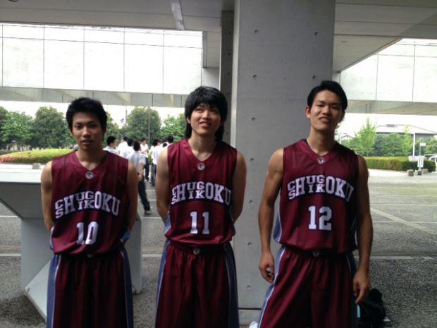 中国四国地区代表バスケットボール