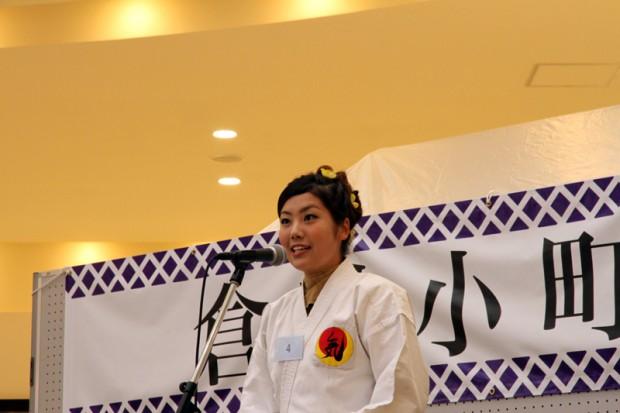 壬生川さんのアピール