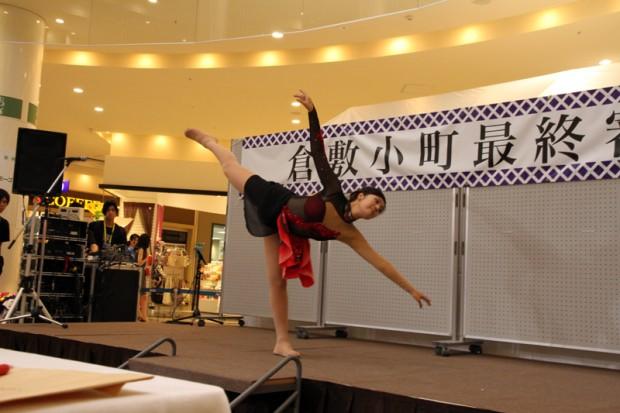 フィギュアスケートの演技をする壬生川さん