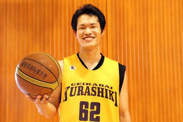 男子バスケットボール部多田修さん