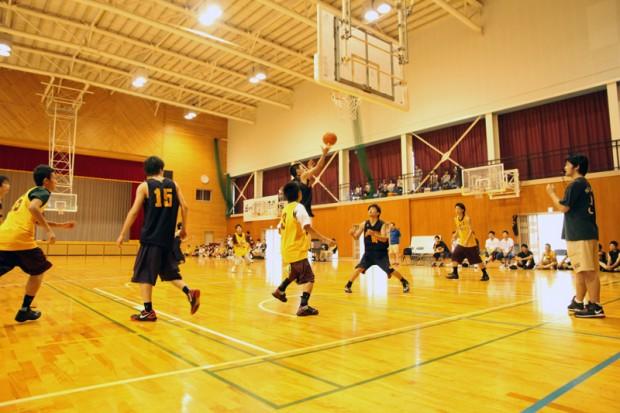 バスケットボール部練習試合