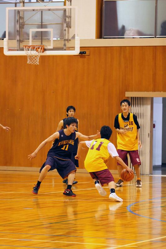 バスケットボールディフェンス