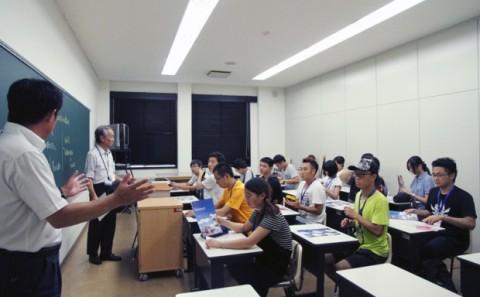 中国 北京城市学院の学内見学について