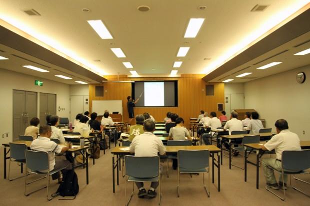 倉敷市大学連携講座の様子