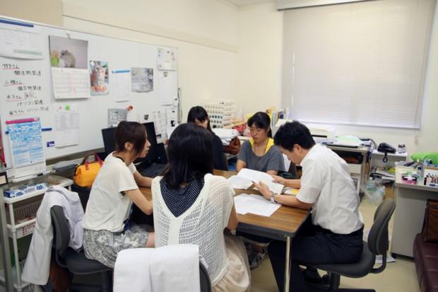 湯川尚一郎先生の研究室