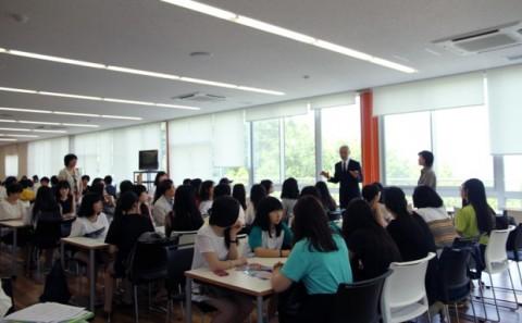 韓国 木洞高等学校の学内実習について