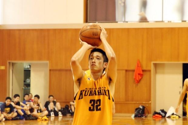 男子バスケットボール部シュートシーン