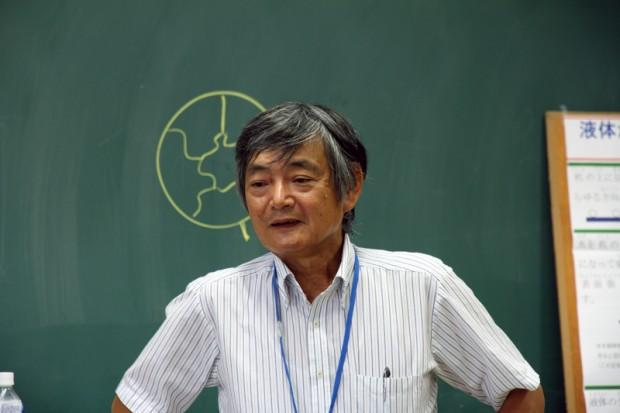 生命科学科教授宮野善盛先生