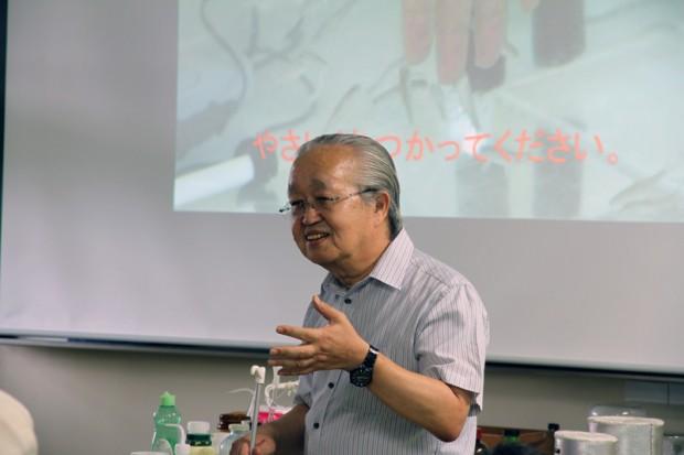 生命科学科准教授大塚雅広先生