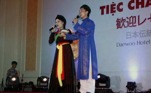 美術工芸学科 大天さんが日越伝統文化国際交流舞台公演に出演。