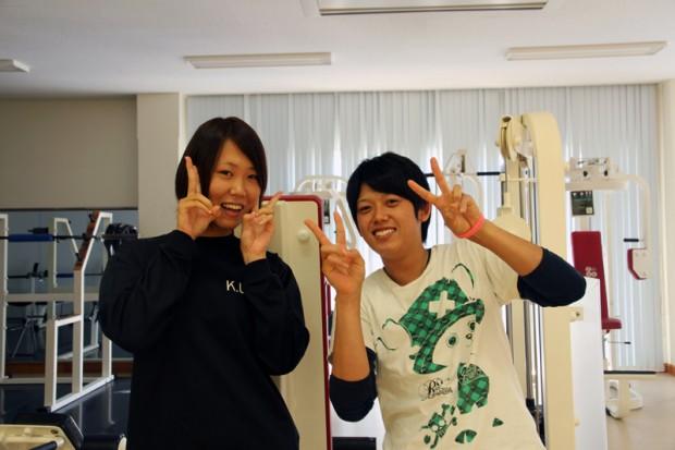 山崎翔平さんと宮本里穂さん