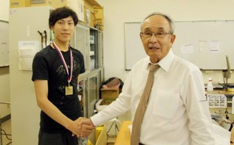 田中 刑事さん世界大会2連覇達成。