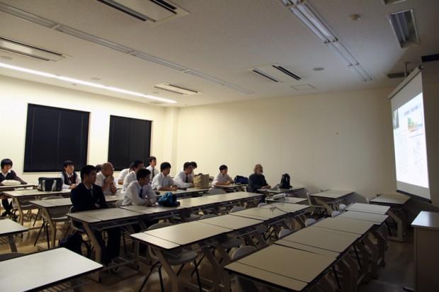 空間デザインについての講義