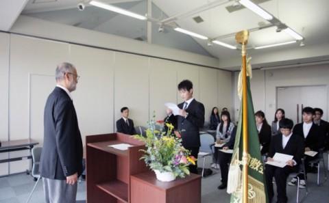 平成25年度 第17回森辰子 留学生奨学金授与式が行われました。