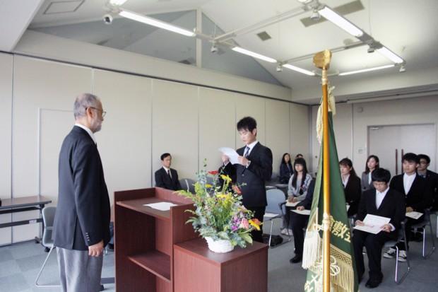 森辰子留学生奨学金授与式